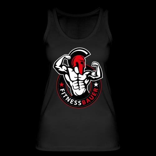 FitnessBauer in Rot - Frauen Bio Tank Top von Stanley & Stella