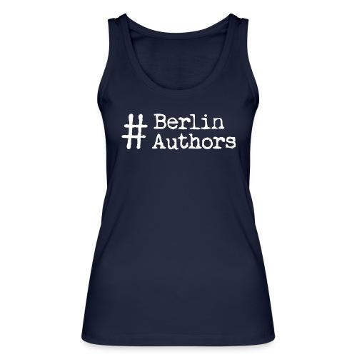 BerlinAuthors Logo Weiß - Frauen Bio Tank Top von Stanley & Stella