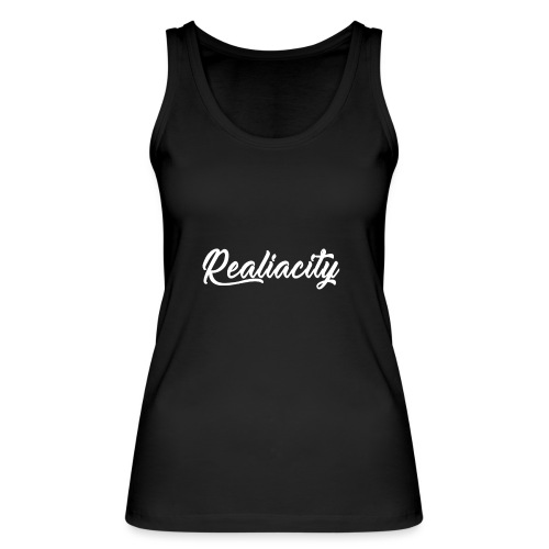 Realiacity Logo - Camiseta de tirantes ecológica mujer de Stanley & Stella