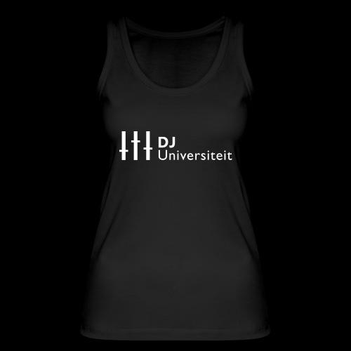 DJ-U (WIT) - Vrouwen bio tanktop van Stanley & Stella