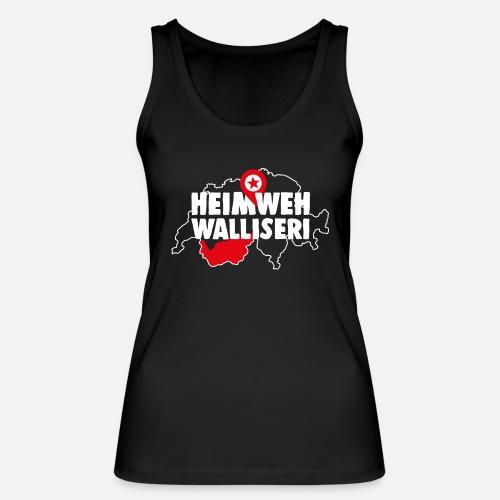 HEIMWEH WALLISERI - Frauen Bio Tank Top von Stanley & Stella