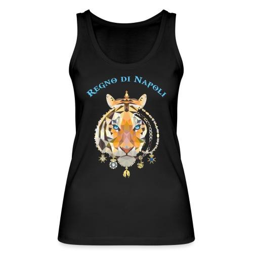 regno di napoli tigre - Top ecologico da donna di Stanley & Stella