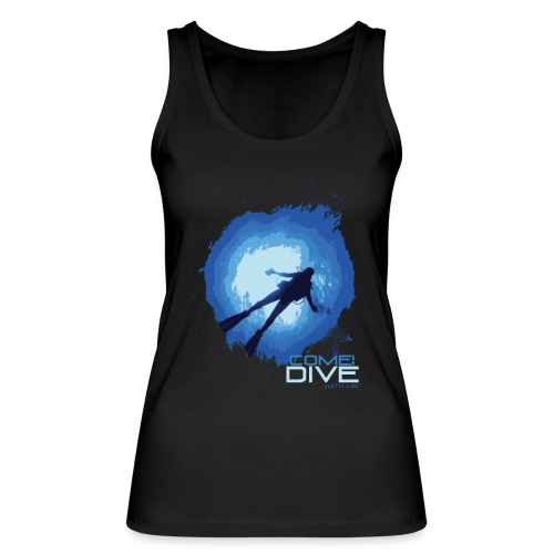 Come and dive with me - Ekologiczny top damski Stanley & Stella