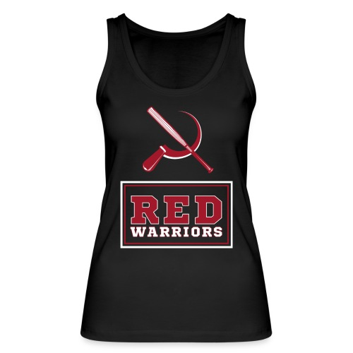 Red Warriors Logo2 - Débardeur bio Femme
