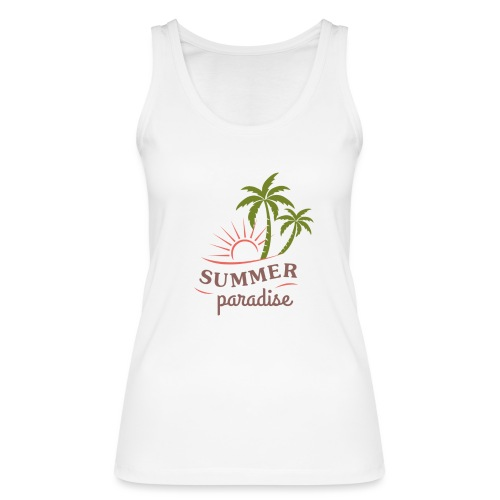 Summer paradise - Women's Organic Tank Top by Stanley & Stella