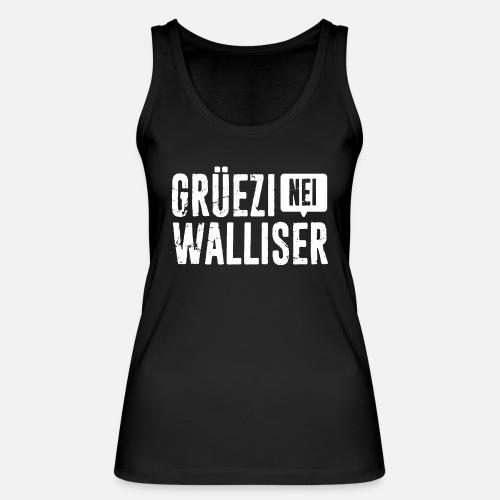 Grüezi – Nei, Walliser - Frauen Bio Tank Top von Stanley & Stella