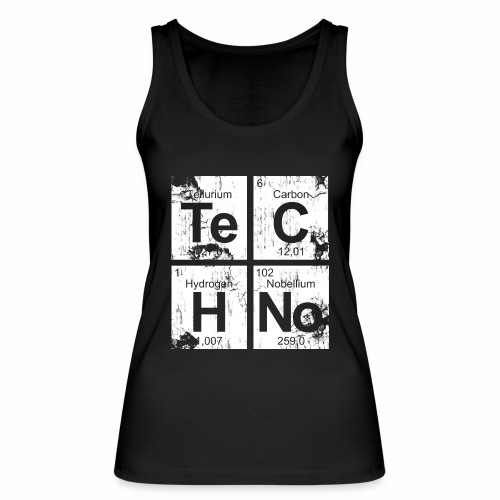 Dirty Techno Chemie - Frauen Bio Tank Top von Stanley & Stella