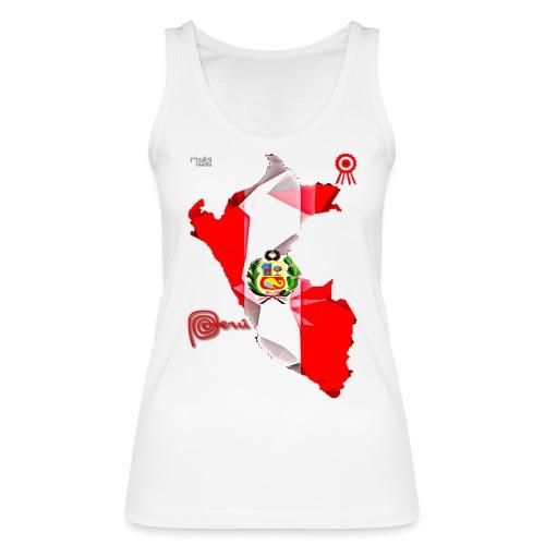 Mapa del Peru, Bandera y Escarapela - Women's Organic Tank Top by Stanley & Stella