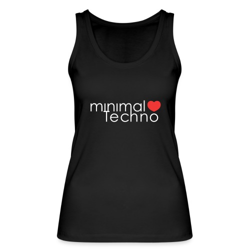 minimal loves techno - Ekologiczny top damski Stanley & Stella