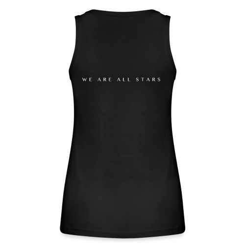 Galaxy Music Lab - We are all stars - Økologisk Stanley & Stella tanktop til damer