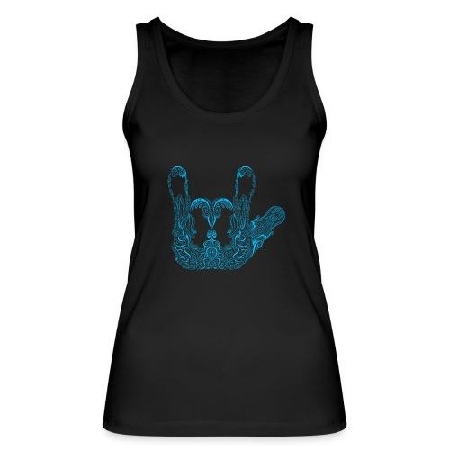 ILY Handzeichen Mandala - Frauen Bio Tank Top von Stanley & Stella