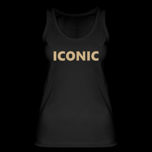ICONIC [Cyber Glam Collection] - Women's Organic Tank Top by Stanley & Stella