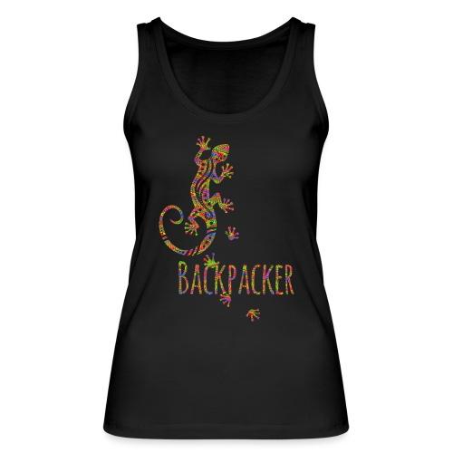 Backpacker - Running Ethno Gecko 3 - Frauen Bio Tank Top von Stanley & Stella