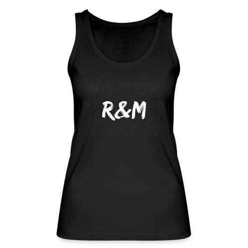 R&M Large Logo tshirt black - Women's Organic Tank Top by Stanley & Stella