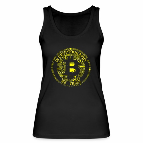 In cryptography we trust 2 - Women's Organic Tank Top by Stanley & Stella