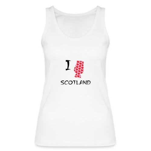 I Love Scotland - Glencairn - Women's Organic Tank Top by Stanley & Stella