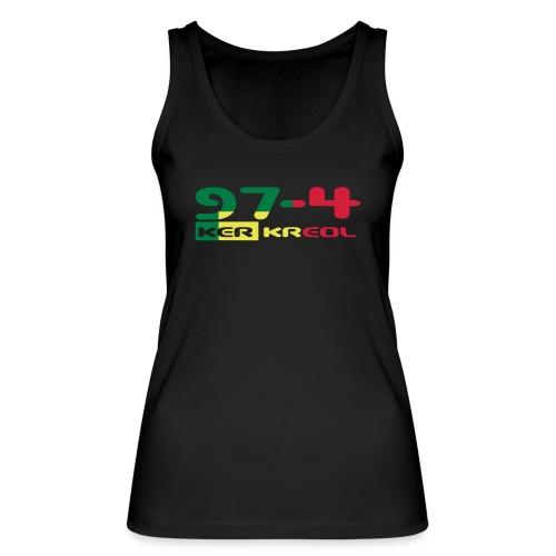 974 ker kreol Rastafari - Débardeur bio Femme