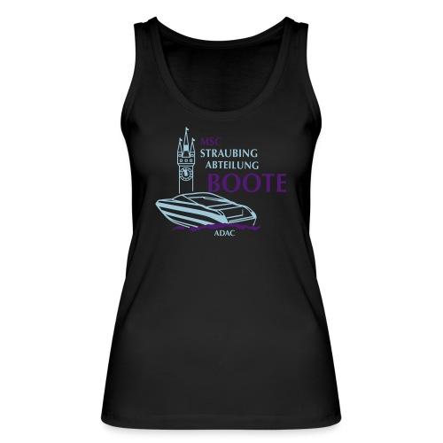 MSC Boote Logo CUT Folie - Frauen Bio Tank Top von Stanley & Stella