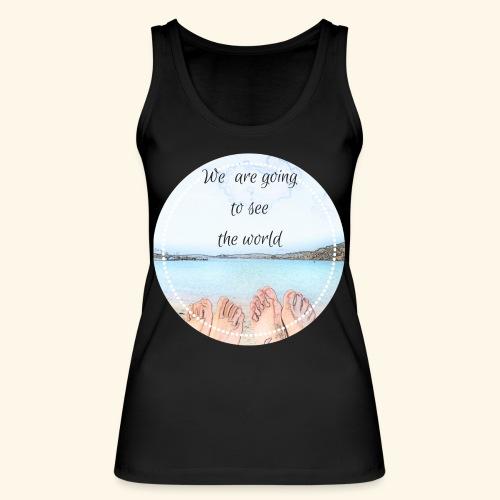 We are goingto see the world - Top ecologico da donna di Stanley & Stella