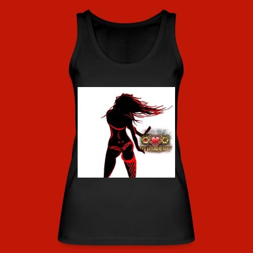 Dancing-Girl-in-red - Frauen Bio Tank Top von Stanley & Stella