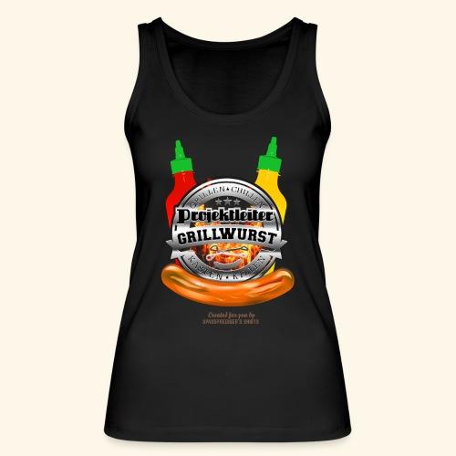 Grillen T Shirt Projektleiter Grillwurst - Frauen Bio Tank Top von Stanley & Stella
