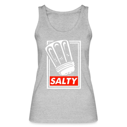 Salty white - Women's Organic Tank Top by Stanley & Stella