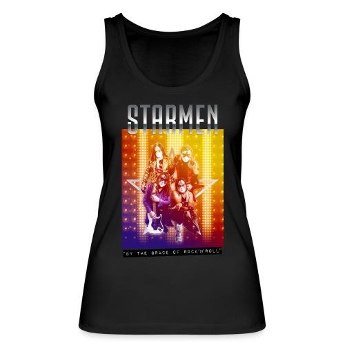 Starmen By the Grace of Rock'n'Roll - Women's Organic Tank Top by Stanley & Stella