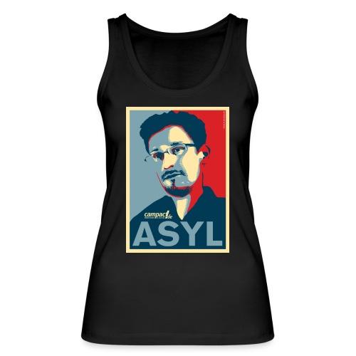 Asyl für Edward Snowden - Frauen Bio Tank Top von Stanley & Stella