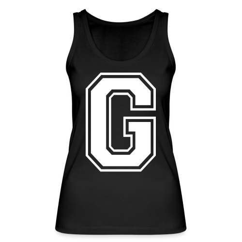 Grime Apparel G Grey Shirt. - Women's Organic Tank Top by Stanley & Stella