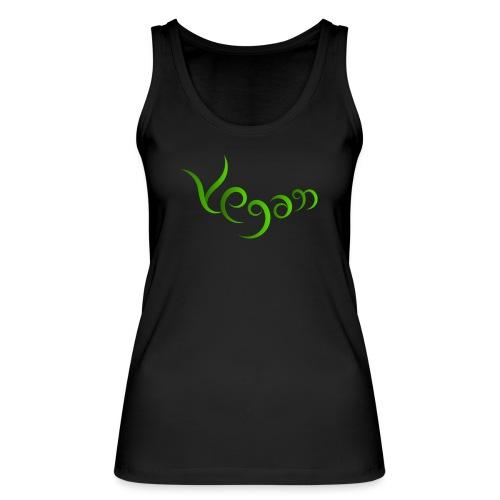 Vegaani käsinkirjoitettu design - Stanley & Stellan naisten luomutanktoppi