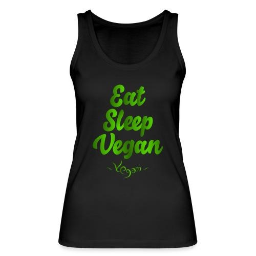 Eat Sleep Vegan - Stanley & Stellan naisten luomutanktoppi