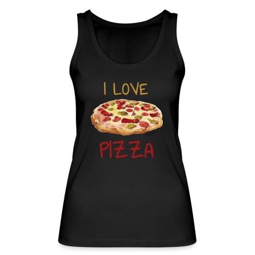 I love Pizza - Frauen Bio Tank Top von Stanley & Stella