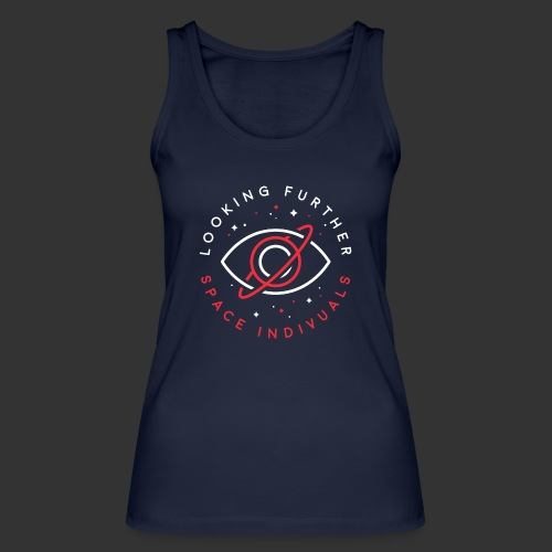 Space Individuals - Looking Farther Black - Women's Organic Tank Top by Stanley & Stella
