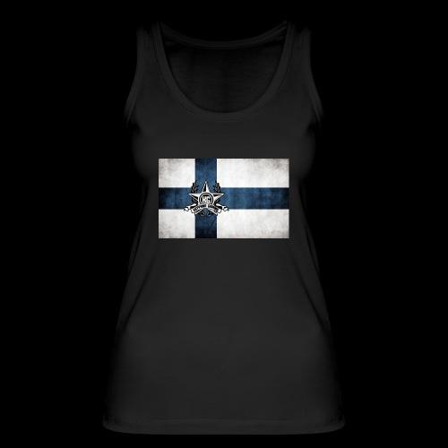 Suomen lippu - Stanley & Stellan naisten luomutanktoppi
