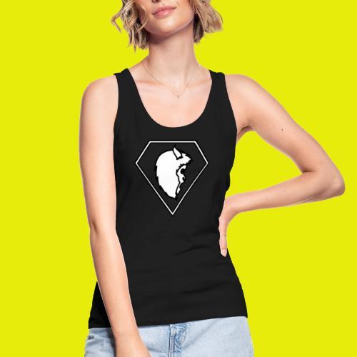 logo white - Women's Organic Tank Top by Stanley & Stella