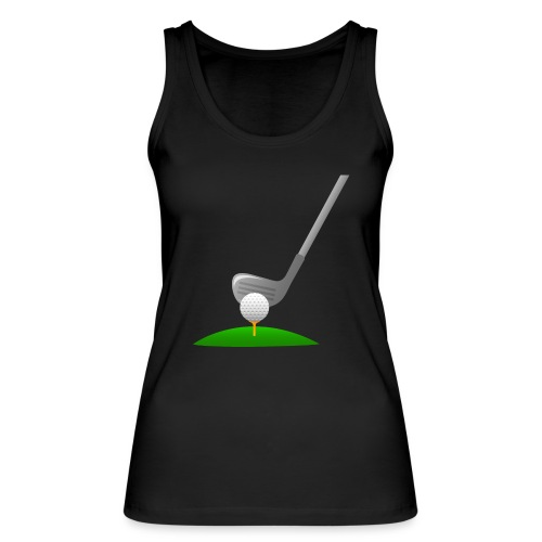 Golf Ball PNG - Camiseta de tirantes ecológica mujer de Stanley & Stella