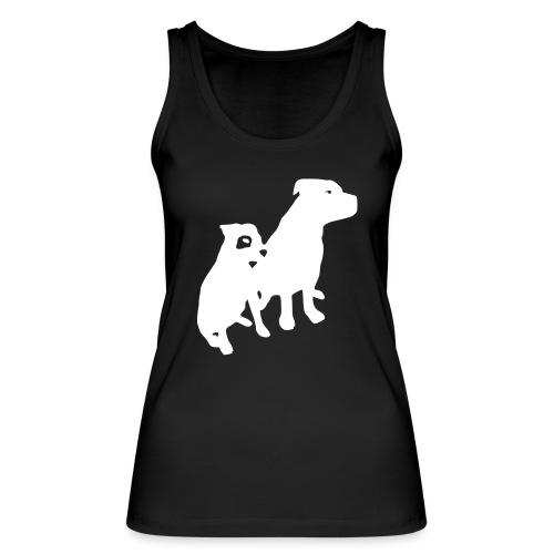 Doggy / zwei brave Hunde zum verschenken - Frauen Bio Tank Top von Stanley & Stella