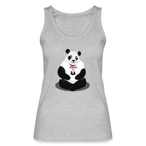 panda hd - Débardeur bio Femme