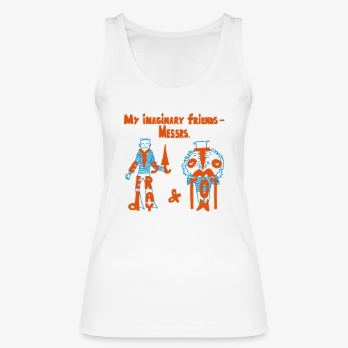My imaginary friends T-shirt - Frauen Bio Tank Top von Stanley & Stella