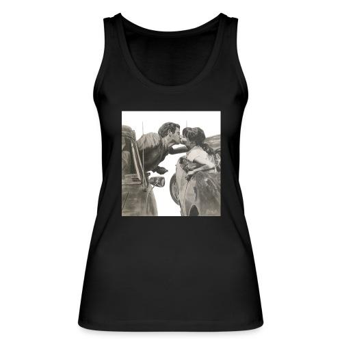 Travel fondo blanco - Camiseta de tirantes ecológica mujer de Stanley & Stella