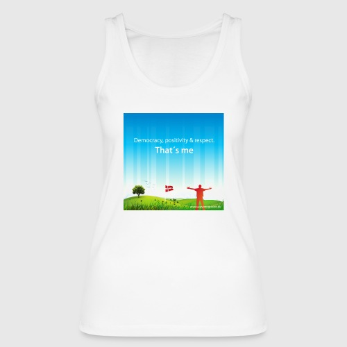 Rolling hills tshirt - Økologisk Stanley & Stella tanktop til damer