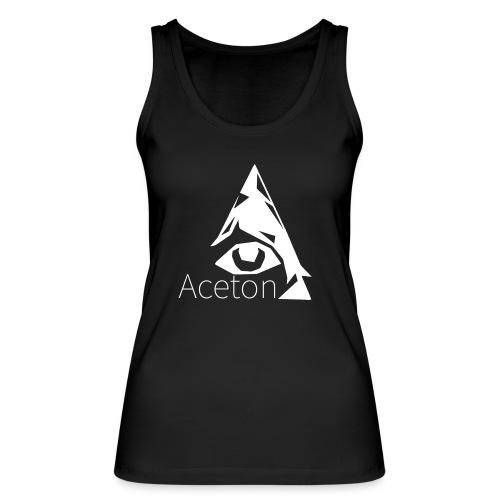 Aceton white png - Frauen Bio Tank Top von Stanley & Stella