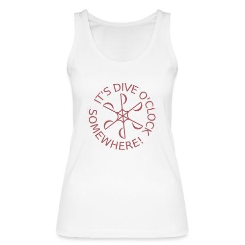 Dive o clock Dark Pink - Women's Organic Tank Top by Stanley & Stella