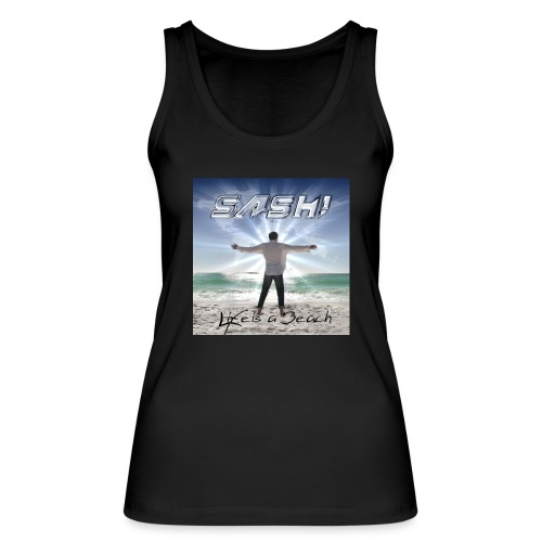 Life Is A Beach Cover - Women's Organic Tank Top by Stanley & Stella