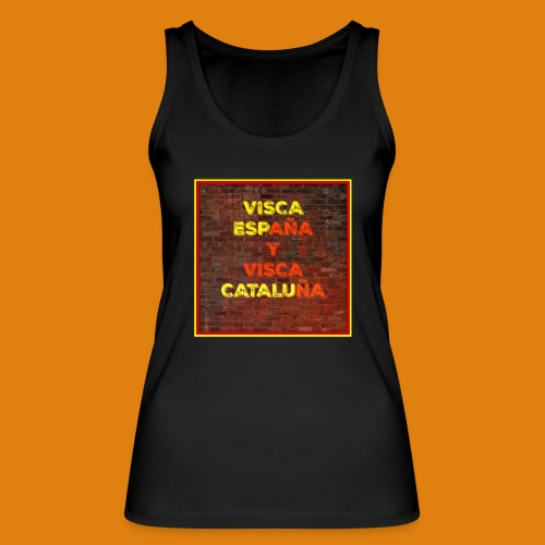 SPAIN AND CATALONIA - Women's Organic Tank Top by Stanley & Stella