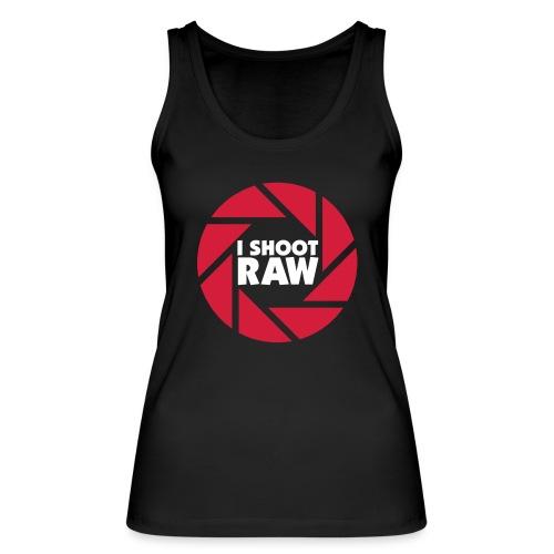 I shoot RAW - weiß - Frauen Bio Tank Top von Stanley & Stella