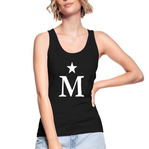 M de Moderdonia blanca - Camiseta de tirantes ecológica mujer de Stanley & Stella