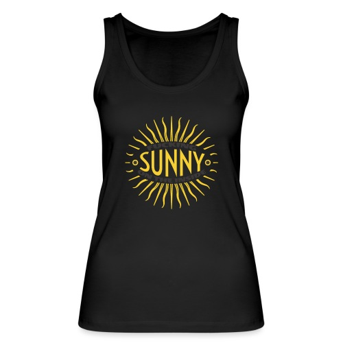 Sunny Inside - Women's Organic Tank Top by Stanley & Stella