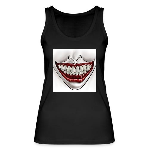 Smile Maske - Frauen Bio Tank Top von Stanley & Stella