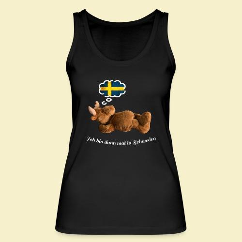 Bin dann mal in Schweden - Frauen Bio Tank Top von Stanley & Stella